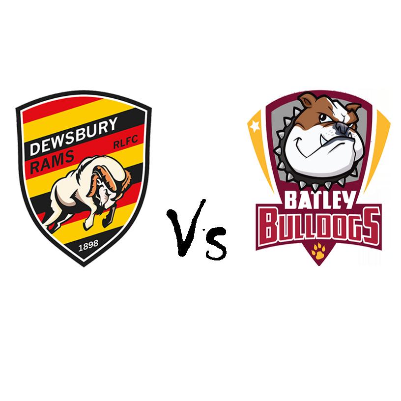 Rams v Batley Bulldogs