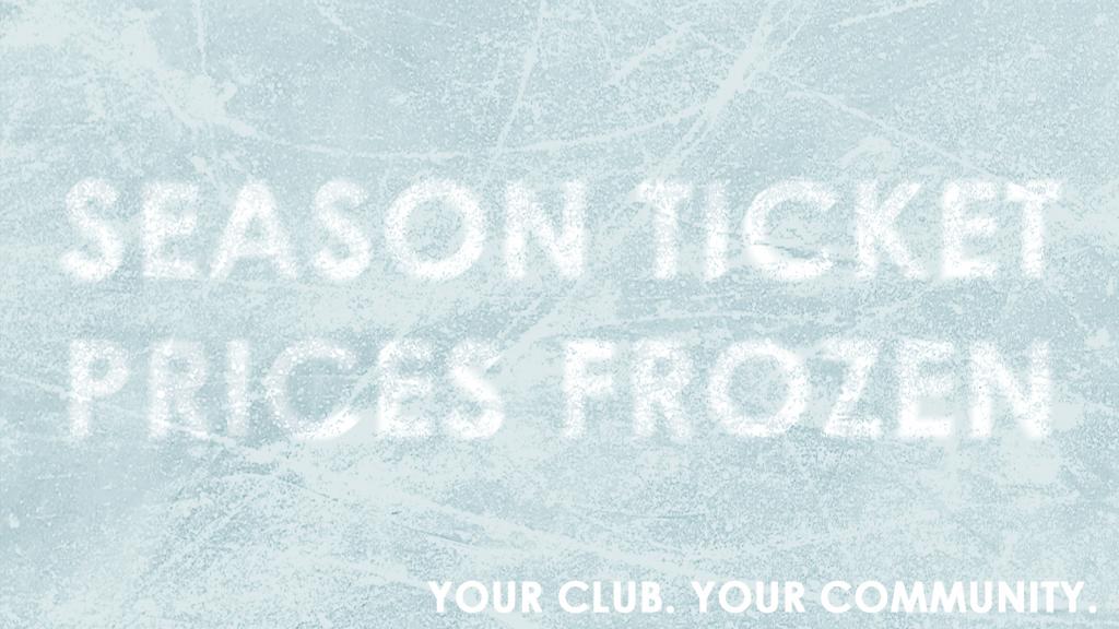 Rams Freeze Season Tickets