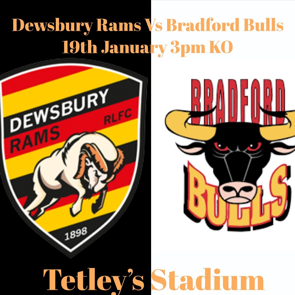 Prices revealed for Bradford Bulls friendly 19th January