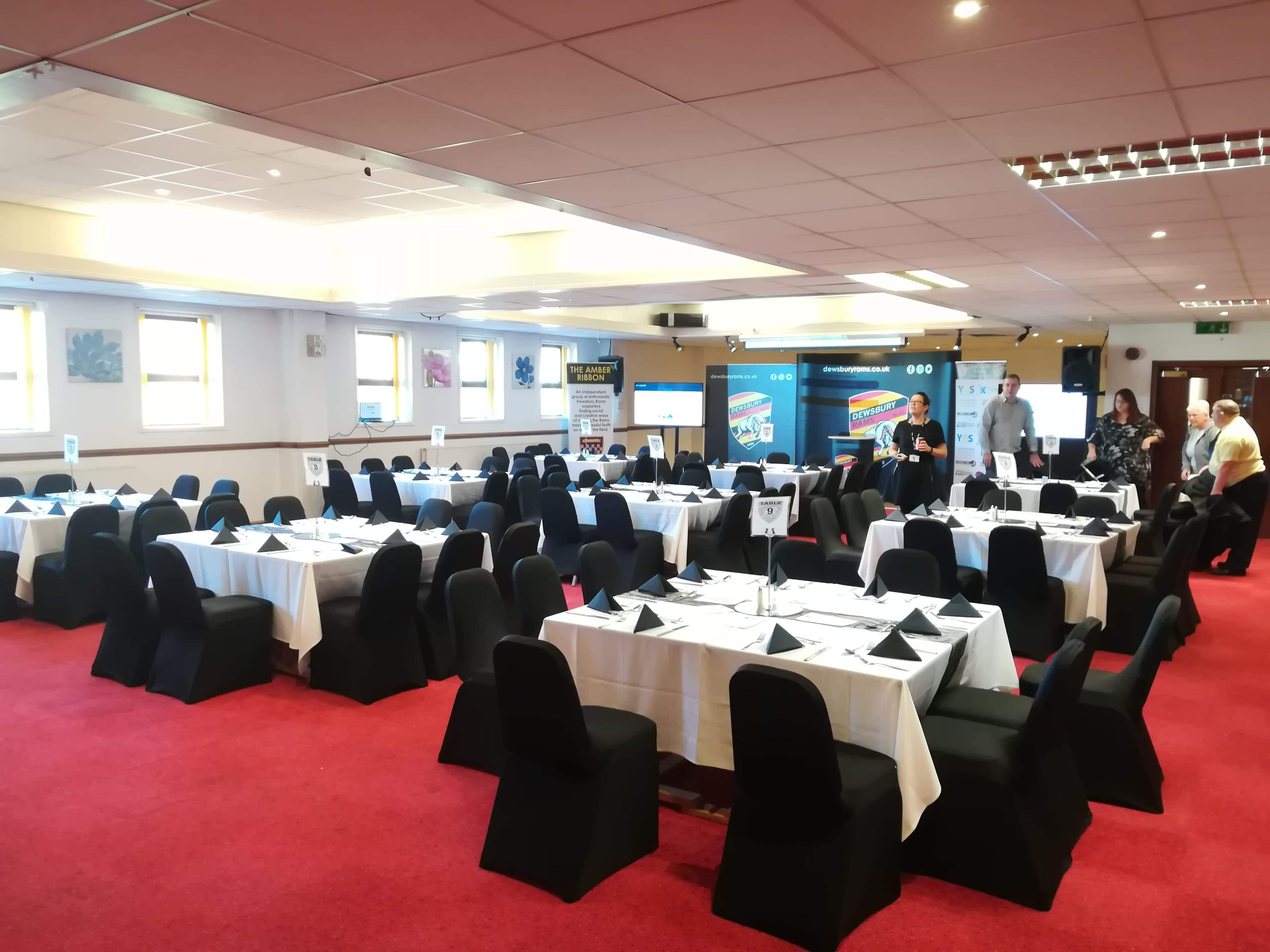 Fantastic hospitality package for Widnes fixture