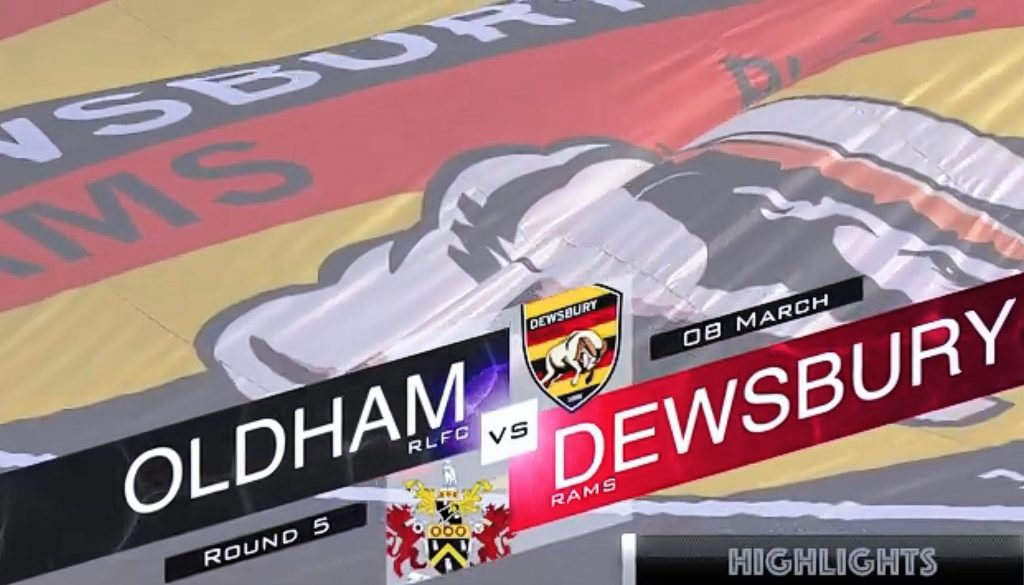 HIGHLIGHTS: Oldham 6-24 Dewsbury Rams