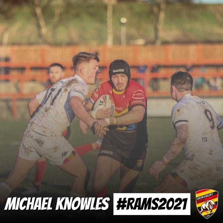 Knowles signs for 2021
